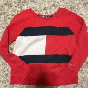 Tommy Hilfiger sweatshirt.